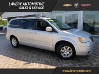 2008 Chrysler Town & Country Touring in Bright Silver