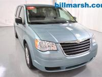Town & Country LX, Blue, Cloth, Air conditioning,
