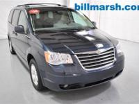 Town & Country Touring, Blue, Adjustable pedals,