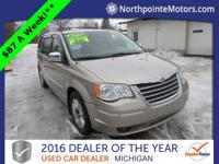 Options:  2008 Chrysler Town & Country Limited|Beige|We