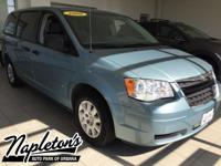 Recent Arrival! 2008 Chrysler Town & Country in Blue,