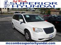 Tried-and-true, this Used 2008 Chrysler Town & Country
