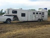 2008 Cimarron live-in equine trailer 8 ft broad x 36 ft