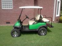 "2008 Precedent golf like new /New CUSTOM paint,12"" rims"