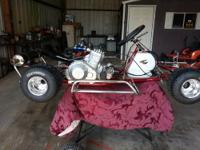 2008 crg shifter kart new 32+90 frame everything