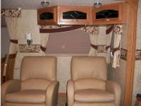 This 2008 Crossroad Seville 5th Wheel sleeps up to 8