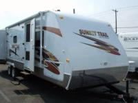 New! Newly arrived bunk model from Sunset Trail. This