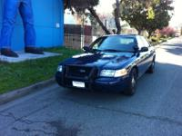 2008 Ford Crown Victoria - Ex Patrol Vehicle. ARE YOU