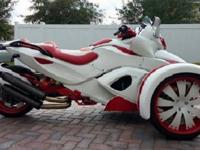 What is a popular three wheeled motorcycle-like