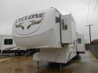 2008 Cyclone Recreational vehicles 4012 2008 Cyclone