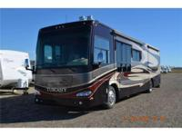 This like new 2008 Damon Tuscany 4072 is powered by a