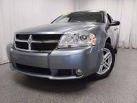 This 2008 Dodge Avenger with its luxurious cabin and