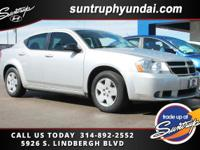 Clean CARFAX. 2008 Dodge Avenger SE FWD 4-Speed