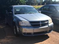 Options:  2008 Dodge Avenger Se|Gray/|V4 2.4L
