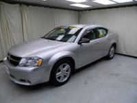 THIS DODGE AVENGER IS A LOCAL TRADE WITH A CD RADIO,