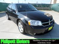 Options Included: N/A2008 Dodge Avenger, black with