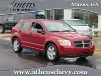 This 2008 Caliber is the perfect car for the family on