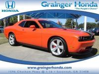 LOW MILES - 5,104! SRT8 trim. Heated Leather Seats,