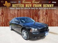 (512) 948-3430 ext.1253 This 2008 Charger is priced in