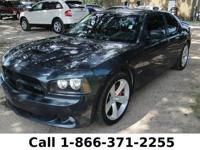 2008 Dodge Charger SRT8 Features: Leather seats - power
