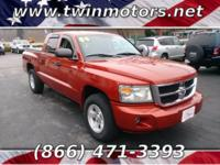 This Dodge Dakota is ready to roll today and is the