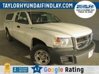2008 White Dodge Dakota ST        ** TAKE ADVANTAGE OF
