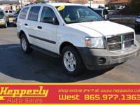 New Price! This 2008 Dodge Durango SXT in White