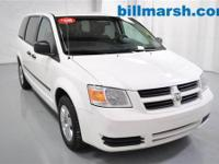 Grand Caravan SE, White, Air conditioning, CD player,