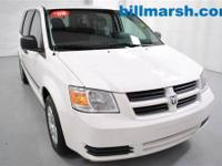 Grand Caravan SE, White, Flex Fuel, 115V Auxiliary