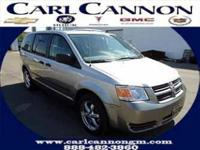 Options Included: N/A2008 Dodge Grand Caravan SE Our