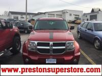 Options:  2008 Dodge Nitro Slt|Red|*Affordable 4X4!*