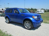 One-owner, non-smoker 2008 Dodge Nitro R/T 4x4 with