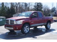 Exterior Color: flame red clear coat, Body: Quad Cab