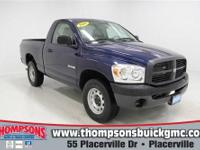 Regular Cab Workhorse!........ 2008 Dodge Ram 1500 ST