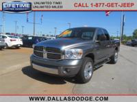 Dallas Dodge proudly presents this carfax 1 owner 2008