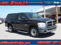 CARFAX One-Owner. Clean CARFAX. Black 2008 Dodge Ram
