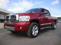 This 2008 Dodge Ram 1500 Laramie 4x4 Truck features a