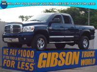 WWW.GIBSONTRUCKWORLD.COM 2008 Dodge Ram 2500 Laramie