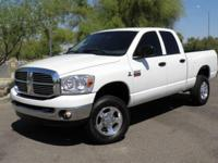 2008 DODGE RAM 2500 CREW CAB W/ A STRONG RUNNING 6.7L