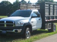 2008 Dodge Ram 4500 SLT w MILITARY DUMP BED If you?re