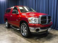 Clean Carfax Two Owner RWD Truck with Canopy!  Options: