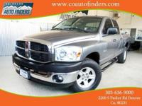 2008 Gray Dodge Ram 1500 SLT For Sale in Denver/Aurora.
