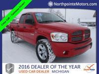 Options:  2008 Dodge Ram 1500 Slt|Red|2008 Dodge Ram