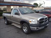This is a super sharp 2008 Dodge Ram 4x4 with a 8
