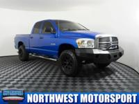 Clean Carfax 4x4 Lifted Truck with Trailer Brakes!