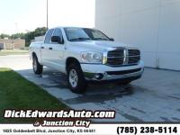 From home to the job site, this White 2008 Dodge Ram