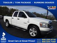 Used 2008 Dodge Ram 1500, DESIRABLE FEATURES: a TRAILER