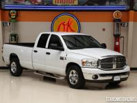 This clean Carfax 2008 Dodge Ram 2500 SLT is in great