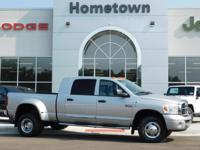 Options:  2008 Dodge Ram 3500 4Wd Mega Cab 160.5