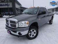Options:  2008 Dodge Ram 3500 Slt|Gray|Priced Below Kbb